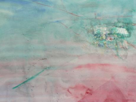 A.Wellenbrock 1.Bild im Atelier Friesenstrasse 2013